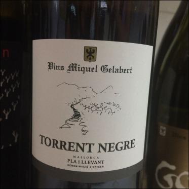 Miquel Galabert Torrent Negre wine