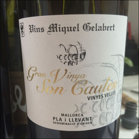 Miquel Galabert Gran Vinyes Son Caules Wine