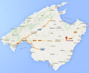 Pere Seda Map