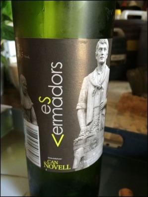 Vins Ca'n Novell_Es Vermadors Blanc