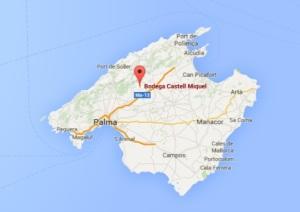 Castell Miquel Map