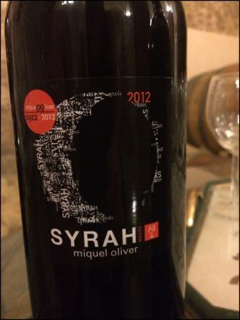 Collita Syrah 2012