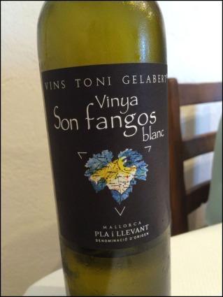 Vinya Son Fangos Blanc